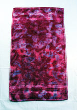 Load image into Gallery viewer, Tie-Dye Hand Towel - Raspberry Fuchsia Marble 100% Cotton -  Hand Dyed - Nice Hotel Quality