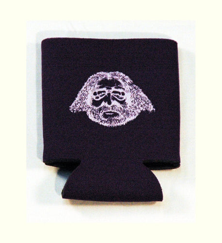 Printed Can Cozie Cooler Insulator - Jerry Garcia Face - Grateful Dead
