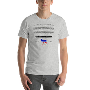 JFK John F Kennedy Liberal Quote Short-Sleeve Unisex T-Shirt