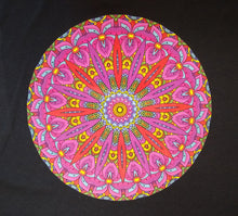 Load image into Gallery viewer, Beautiful Colorful Mandala Adult Printed Graphic T-Shirt