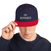 Load image into Gallery viewer, OK Boomer Baseball Cap / Trucker / Snapback Hat