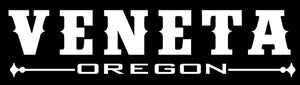 Veneta Oregon Vinyl Decal Sticker - For Cars, Windows, Doors, Signs, etc.