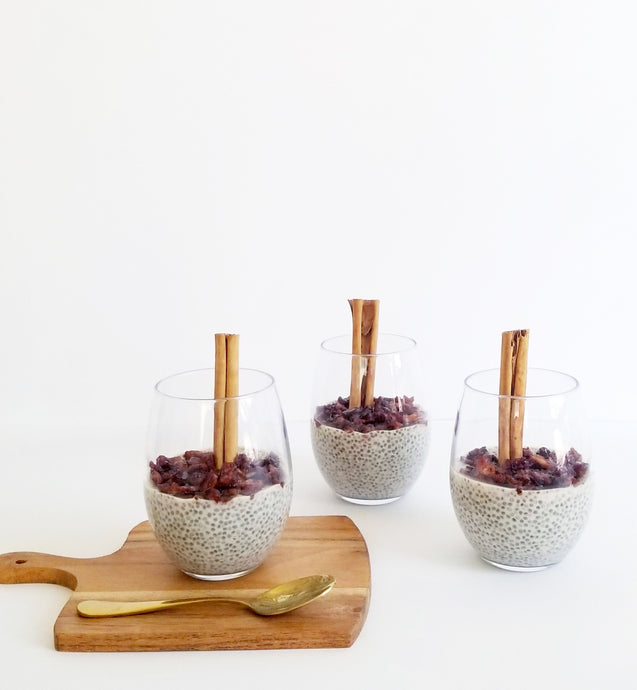 Cinnamon Apple Pie Chia Pudding