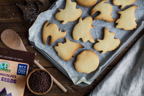 natierra spooky halloween cookie recipe idea healthy