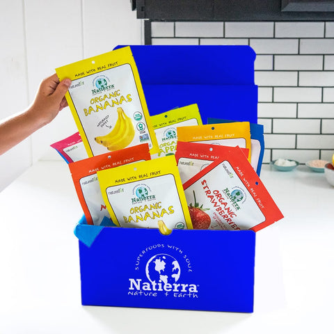 organic freeze dried subscription box natierra