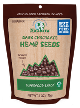 Load image into Gallery viewer, Natierra Dark Chocolate Hemp Seeds HIMHPCD06 812907013133