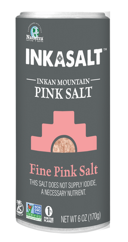 Natierra Fine InkaSalt Salt Shaker 6oz NATIKFS06 812907013492