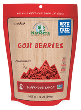 Load image into Gallery viewer, Natierra Goji Berries 12oz HIMGBN12 856308000668