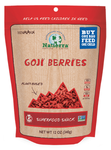 Natierra Goji Berries 12oz HIMGBN12 856308000668