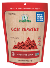 Load image into Gallery viewer, Natierra Goji Berries 8oz HIMGBN08 856308000927