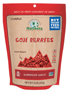 Natierra Goji Berries 8oz HIMGBN08 856308000927