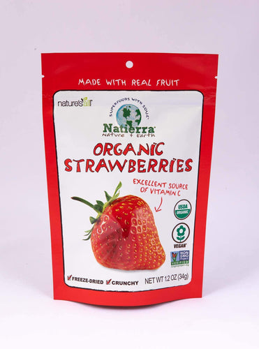 Natierra Freeze-Dried Strawberries