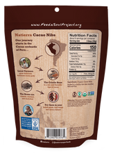Load image into Gallery viewer, Natierra Organic Cacao Nibs Bag NATCNR10 812907014765