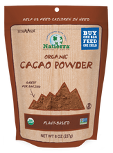 Load image into Gallery viewer, Natierra Organic Cacao Powder Bag NATCPO08 812907014741