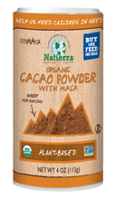 Load image into Gallery viewer, Natierra Organic Cacao Powder with Maca Shaker NATSCPMO4 812907013676