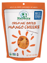 Load image into Gallery viewer, Natierra Organic Dried Mango Cheeks 3oz NATMNGCHK3 812907015878