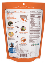 Load image into Gallery viewer, Natierra Organic Dried Mango Cheeks NATMNGCHK8 812907015649