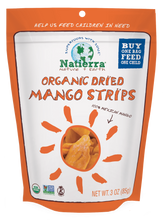 Load image into Gallery viewer, Natierra Organic Dried Mango Strips 3oz NATMNGSTP3 812907015885