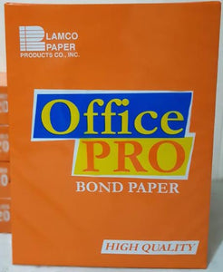 OFFICE PRO SHORT BOND PAPER 70 GSM S-20 (COMING SOON) (4742109429845) (4743252738133) (4743253131349)