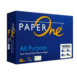 PAPER ONE BLUE A4 COPY PAPER S-24 80GSM (COMING SOON) (4742718292053)