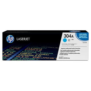 HP 304A Cyan Original LaserJet Toner Cartridge (CC531A) (4673011843157)