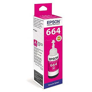 Epson T6643 Magenta Ink Bottle 70ML C13T664300 (4667858550869)