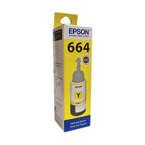 Epson T6644 Yellow Ink Bottle 70ML C13T664400 (4668067807317)