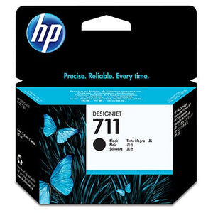 HP 711 80-ml Black DesignJet Ink Cartridge (CZ133A) (4634174160981)