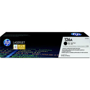 HP 126A Black Original LaserJet Toner Cartridge (CE310A) (4672501809237)