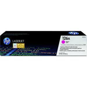 HP 126A Magenta Original LaserJet Toner Cartridge (CE313A) (4672555515989)