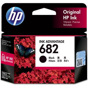 HP 682 Black Original Ink Advantage Cartridge (3YM77AA) (SOON) (4779336630357)