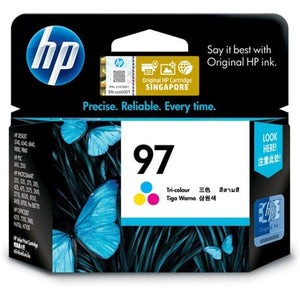 HP 97 Tri-color Original Ink Cartridge (C9363WA) (4800403112021)