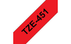 Copy of Genuine Brother TZE-S651 Labelling Tape Cassette – Black on Yellow Strong Adhesive, 24mm wide (4785187979349)