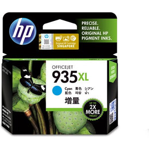 HP 935XL High Yield Cyan Original Ink Cartridge (C2P24AA) (4800415465557)