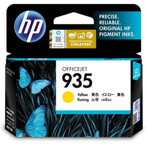 HP 935 Yellow Original Ink Cartridge (C2P22AA) (4800413630549)