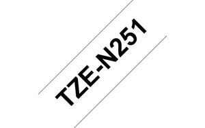 Copy of Genuine Brother TZe-451 Labelling Tape Cassette – Black on Red, 24mm wide (4785188864085)
