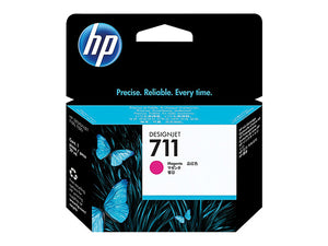 HP 711 29-ml Magenta DesignJet Ink Cartridge CZ131A (4783842492501)