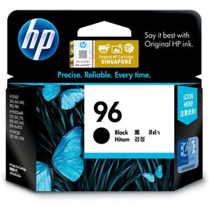 HP 96 Black Original Ink Cartridge (C8767WA) (4800402391125)