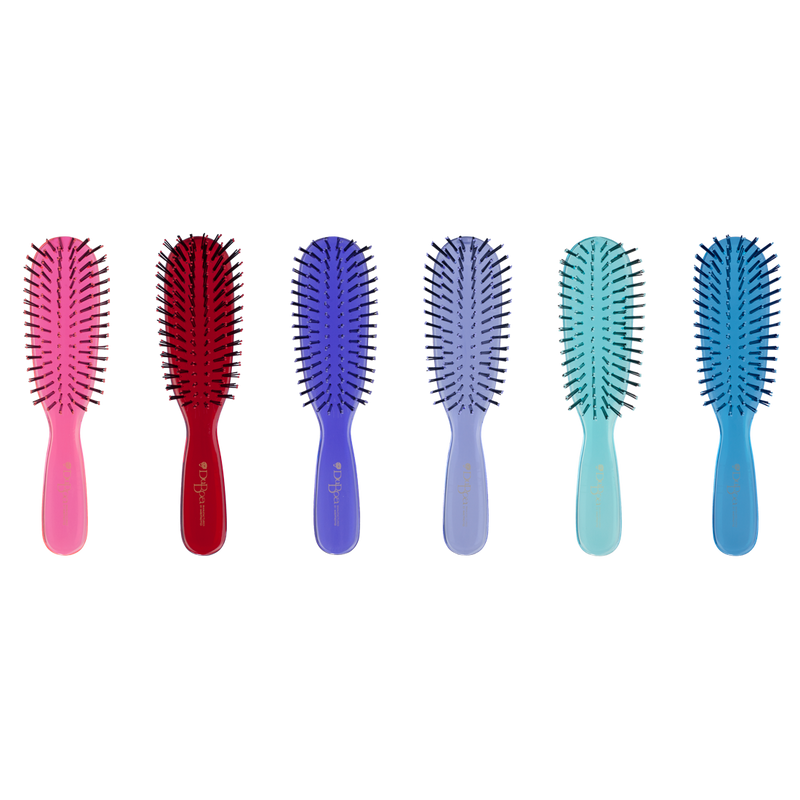DuBoa 60 Medium Hair Brush | Blue Transparent