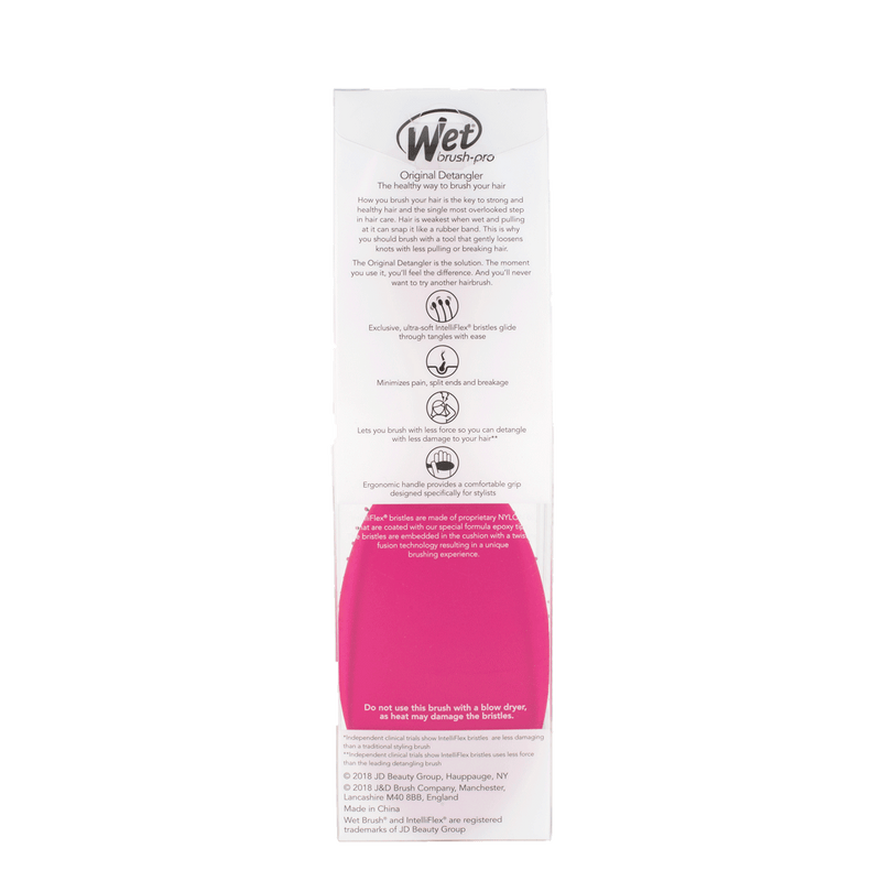 Wet Brush Pro Original Detangler Hair Brush | Pink