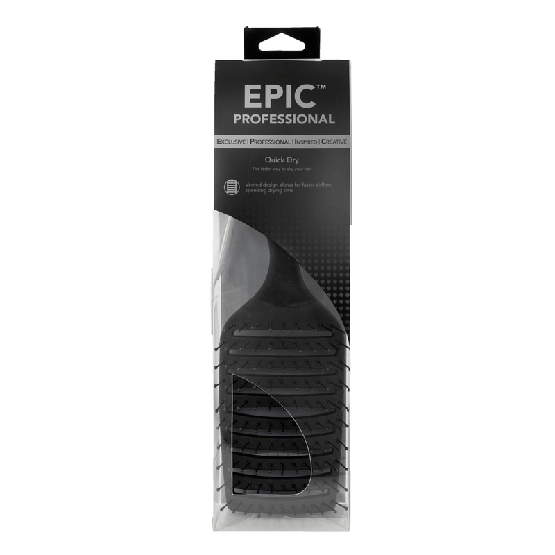Wet Brush Epic Professional Quick Dry Hair Brush | Black