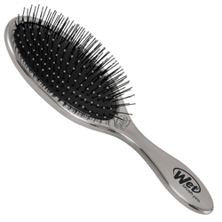 Wet Brush Pro Original Detangler Hair Brush | Antique Silver Metal Finish