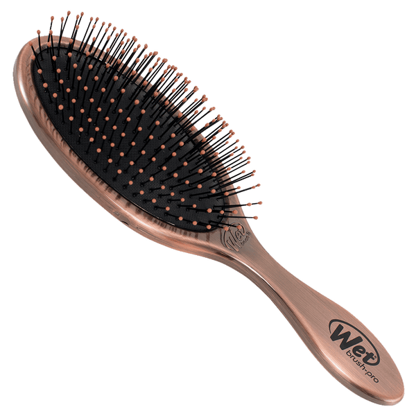Wet Brush Pro Original Detangler Hair Brush | Antique Bronze Metal Finish