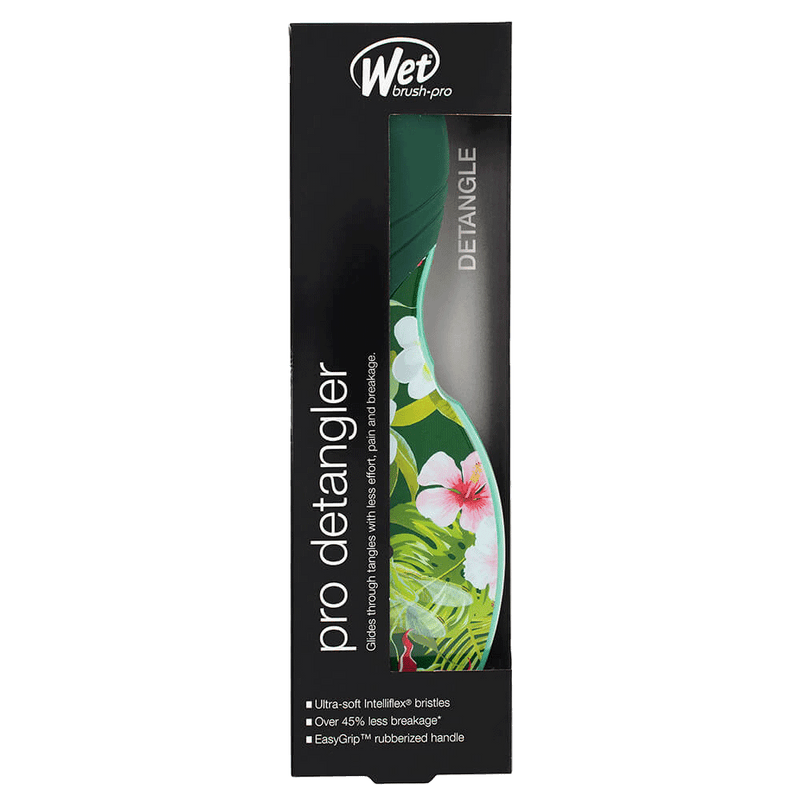 Wet Brush Pro Detangler Hair Brush | Neon Tropics Floral