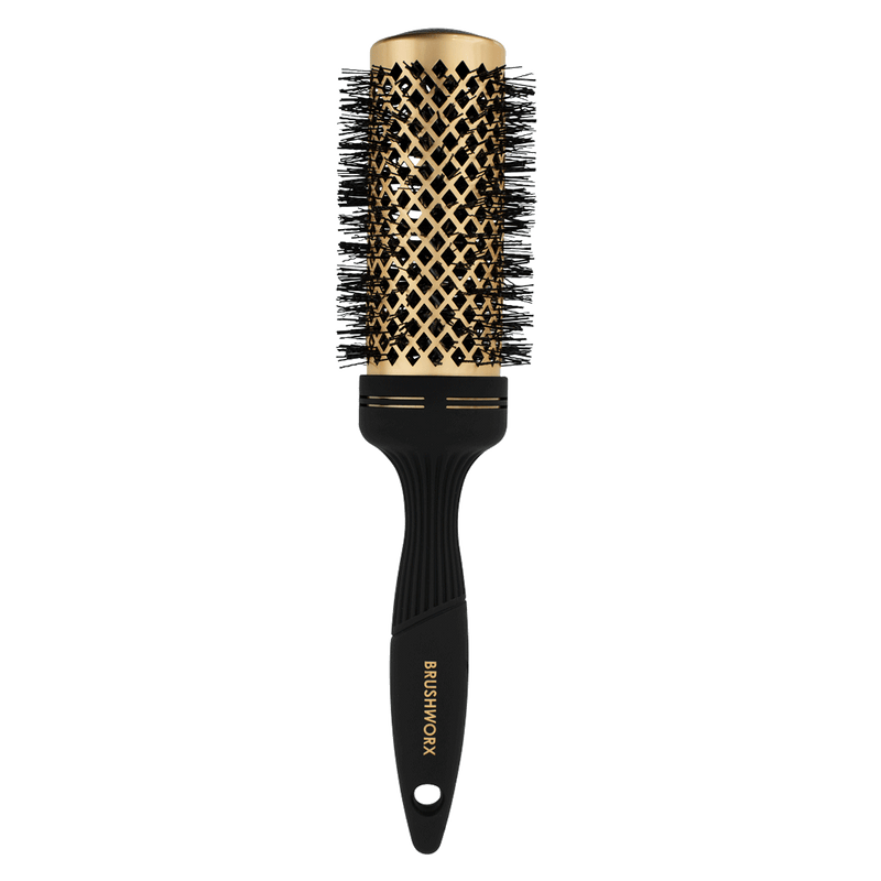 Brushworx Gold Series Hot Tube Hair Brush | Large 60mm