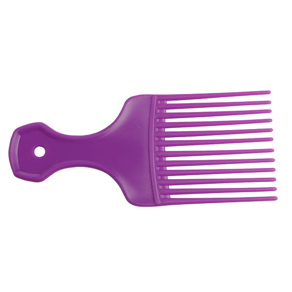 Salon Smart | Afro Hair Comb | Purple