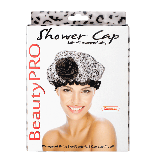 BeautyPRO Cheetah Shower Cap