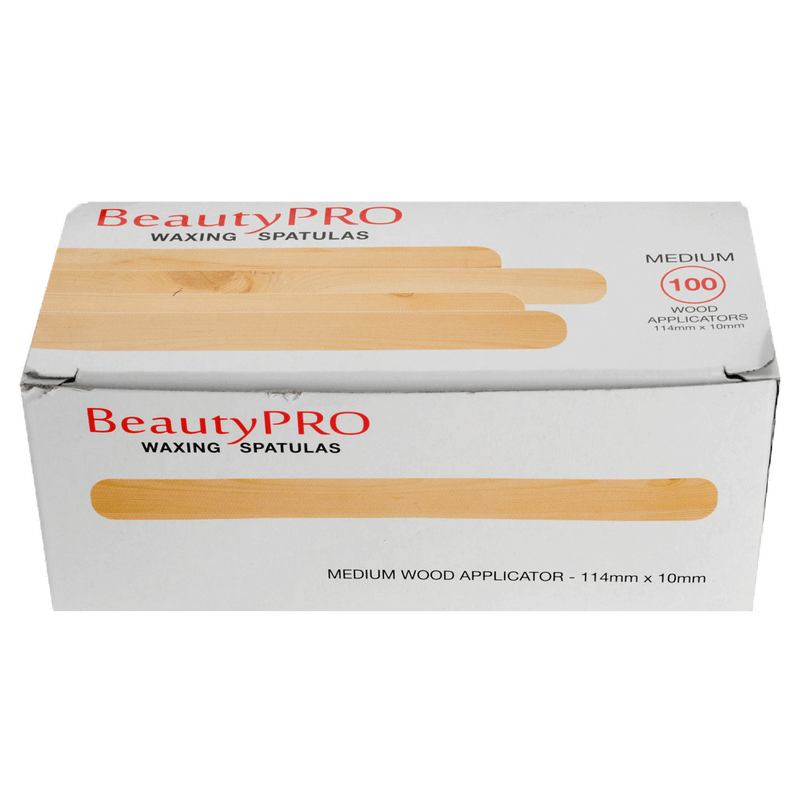 BeautyPRO Medium Spatulas | Pack of 100