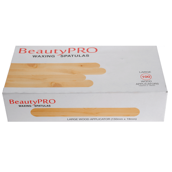 BeautyPRO Large Spatulas | Pack of 100