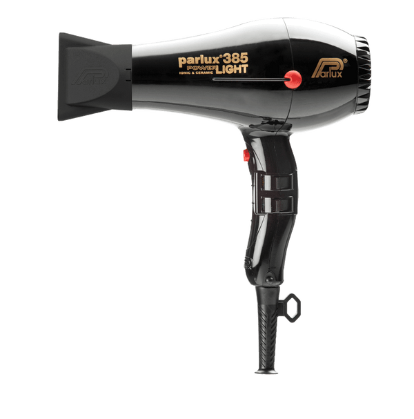 Parlux 385 Powerlight Ceramic and Ionic Hair Dryer | Black